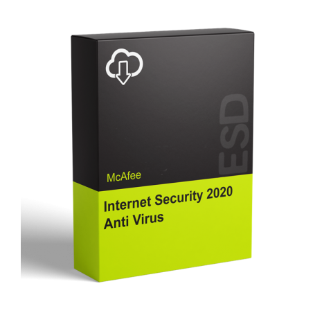 McAfee Internet Security 2020 Anti Virus - 1 rok
